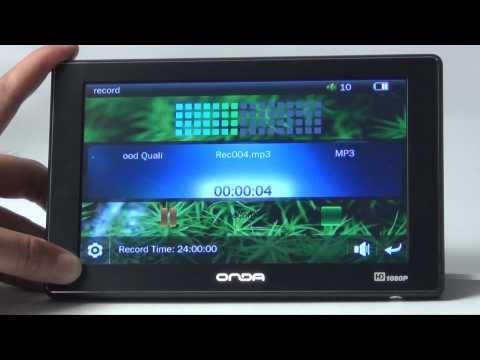 Original Onda VX610+ 1080P 7 Touch Screen 8GB MP3 MP4 Media Player E-book.flv