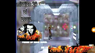 walkthrough goldeneye 007 mission 24 al 100% modo agente secreto