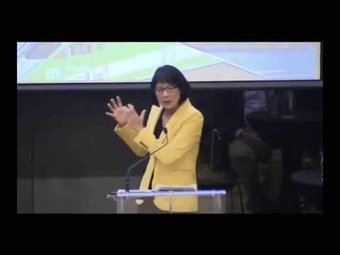 Olivia Chow gave her best speech yet last night