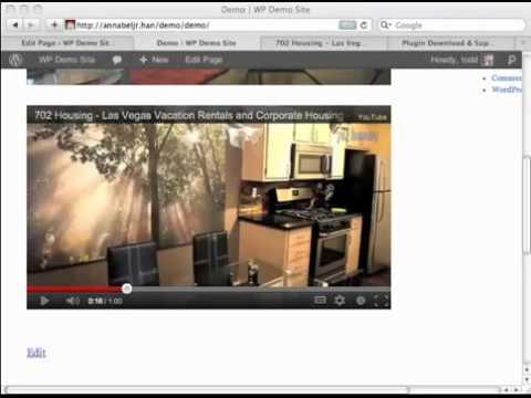 0 TubePro WordPress Plugin Demo   WP YouTube Plugin