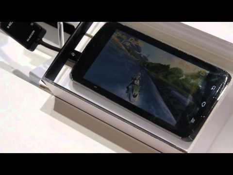 Demo of Rip Tide running on Fujitsu Tegra 3 powered smartphone