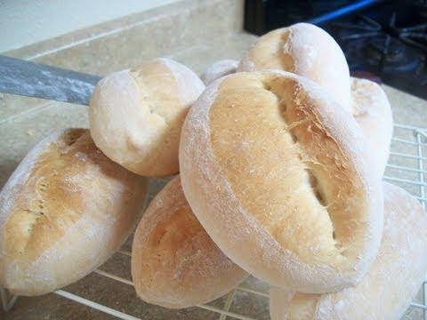 PAN - BOLILLO - BIROTE CASERO - Mexican Bread - Receta Mexicana -  lorenalara144