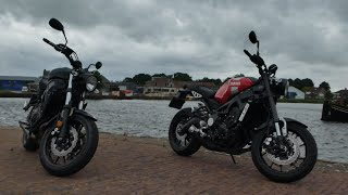 Bekeuring tijdens Promotie Rit!? || Yamaha XSR 700 & 900 || DutchRiders