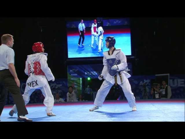 2013 WTF World Taekwondo Championships Final   Male -63kg thumbnail