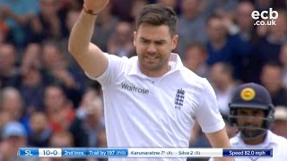 Watch James Anderson's 10 wickets against Sri Lanka