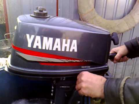 Yamaha 5 Hp Outboard Motor 2006 R 2 Stroke Dwusuw Youtube