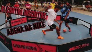 DESAFIO VS INSCRITOS NA ARENA DA NIKE