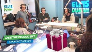 Jake The Producer Doesn't Know How Much Money to Give for a Wedding Gift | Elvis Duran Exclusive