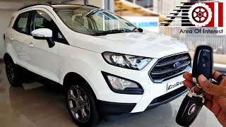 2019 Ford EcoSport S (Sports Edition) | Sunroof | Price | Mileage | Features | Specs | Interior