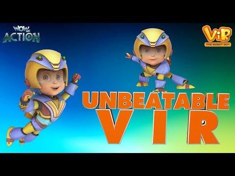 Vir: The Robot Boy | Unbeatable Vir | Action Movie for Kids| WowKidz Action