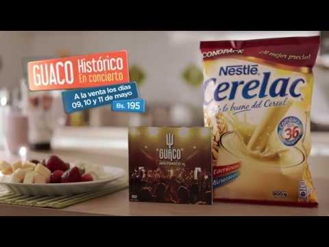Comercial Nestlé Cerelac + Guaco Histórico Dvd video