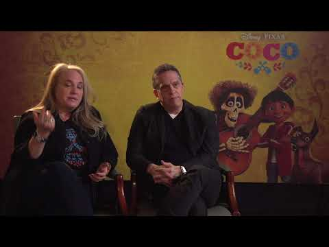 Pixar Coco Movie Director/Writer Lee Unkrich And Producer Darla K. Anderson