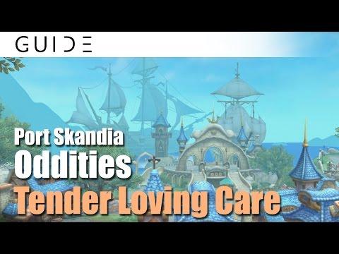 Aura Kingdom Guide - Oddities Achievements - #23 Tender Loving Care in Port Skandia [HD]