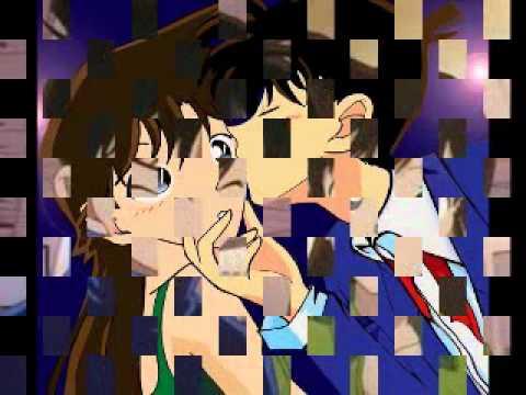 Kudo Shinichi Kiss Ran Mori Mouri Ran Kudo Shinichi