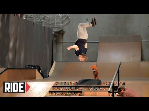 Skateboarder Backflips Down 6 Stairs!!! - Adam Miller Music Videos