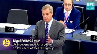 Brexit vote on June 23rd will bring an end to the entire European project - Nigel Farage MEP