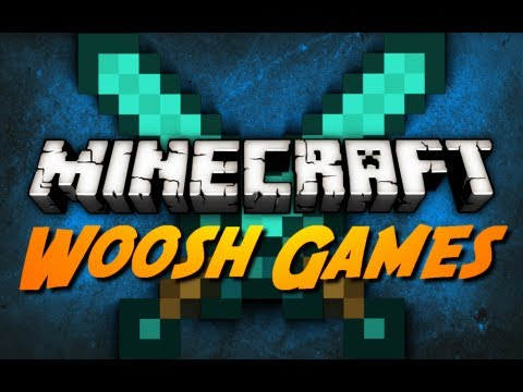 Minecraft: Woosh Games w/ CavemanFilms!