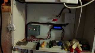 Solar powered shed & garage setup UK - January 2013 Update