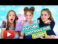 YouTube Controls Our Slime!  YouTube Polls Slime Challenge!