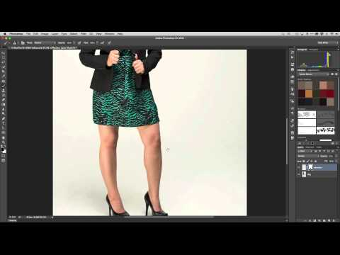 How to Add a Reflection of your Subject on the Floor in Adobe Photoshop