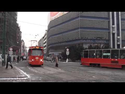 (6.02.12) Tramwaje Na Rynku W Katowicach