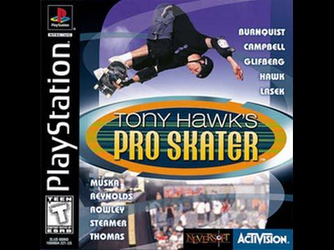 Detonado Tony Hawk\'s Pro Skater (PS1)