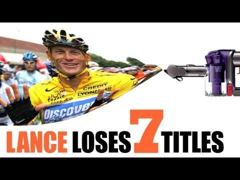 Lance Armstrong Loses Seven Tour Titles