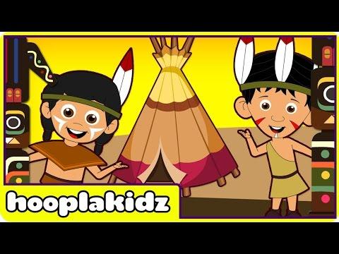 Ten Little Indians - Nursery Rhymes