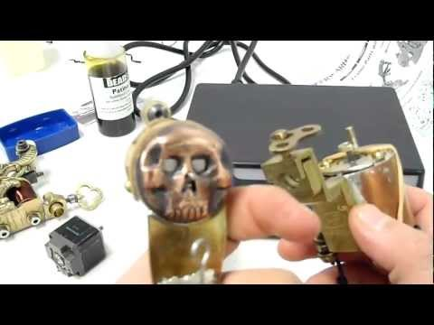 ROTARY TATTOO MACHINE  TRYALS AND ERORS ON THE MAKING
