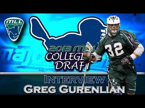 Greg Gurenlian MLL Draft Interview