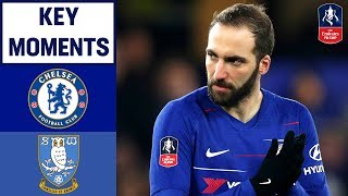Chelsea 3-0 Sheffield Wednesday | Key Moments | Emirates FA Cup 18/19