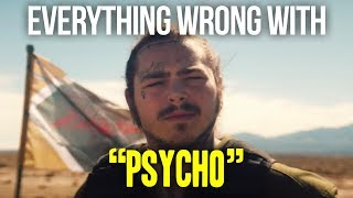 "Download Lagu Everything Wrong With Post Malone - ""Psycho"" Gratis STAFABAND"