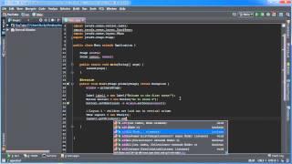 JavaFX Java GUI Tutorial - 4 - Switching Scenes