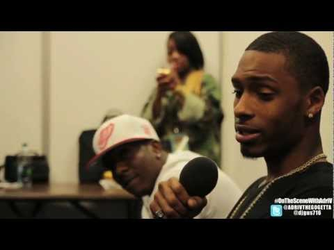 NEW BOYZ INTERVIEW x #OnTheSceneWithAdriV (Vlog #2)