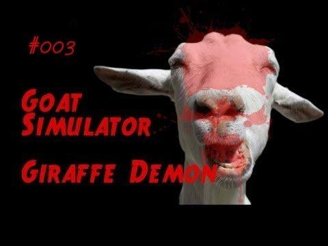 Симулятор Козла - Goat Simulator | Жираф, Арбуз и Демон - #003