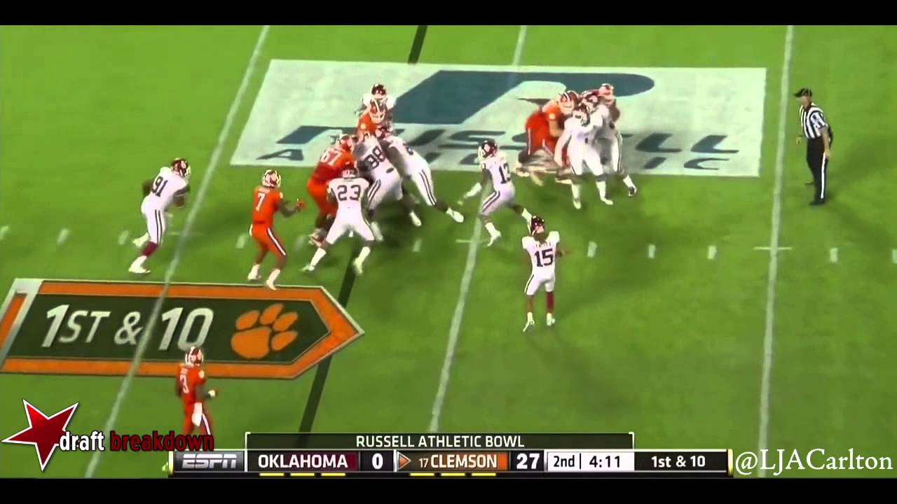Jordan Phillips vs Clemson (2014)