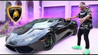 SURPRISING MY HUSBAND WITH HIS DREAM CAR **NEW LAMBORGHINI**