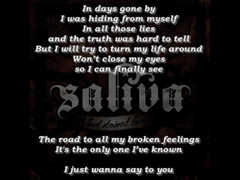 Saliva - Starting Over (Lyrics)