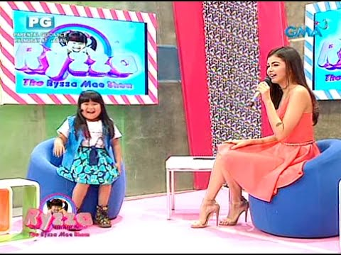 Ryzza mocks Janine Gutierrez's greeting for Elmo Magalona