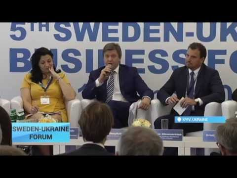 Sweden-Ukraine Business Forum 2016: Innovations are engine of growth