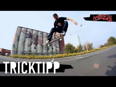 Skateboard Trick Tipp - how to Ollie (Kerem Elver) deutsch/german HD