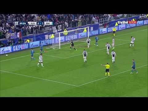 Juventus 0 - 3 Real Madrid | UEFA Şampiyonlar Ligi Çeyrek Final