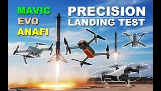 Precision Landing Test: Autel EVO vs DJI Mavic Pro vs Parrot Anafi vs DJI Mavic Air