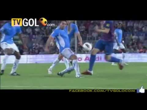 David Villa Second Goal 17.09.2011 ~ Fc Barcelona 7-0 Osasuna