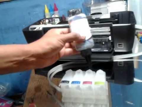 INSTALACION DE CISS EN HP DESKJET 1000