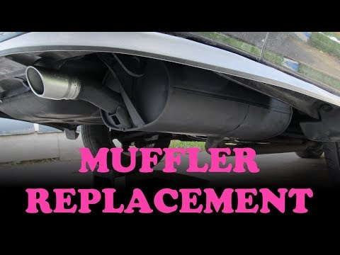 Toyota Muffler Repair Replacement Youtube