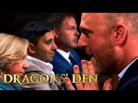 Three Dragons Compete For 25% Of Alcohol Biscuits Business | Dragons' Den