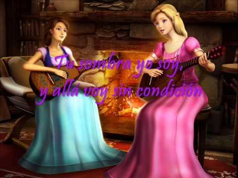 Barbie y el Castillo de Diamantes Dos voces Una canción Letra