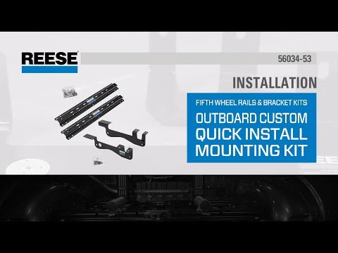 Installation: 56034-53 Reese® Outboard Fifth Wheel Mounting Kit on 2016 Ford F-150