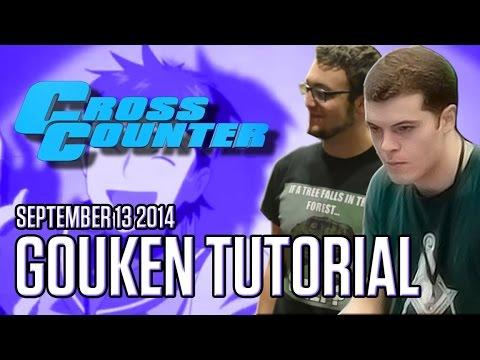 Gouken tutorial w/ Veloc1raptor (@Veloc1raptor) & Alex Myers (@AlexMyersSf4) - 9/13/2014 - USF4